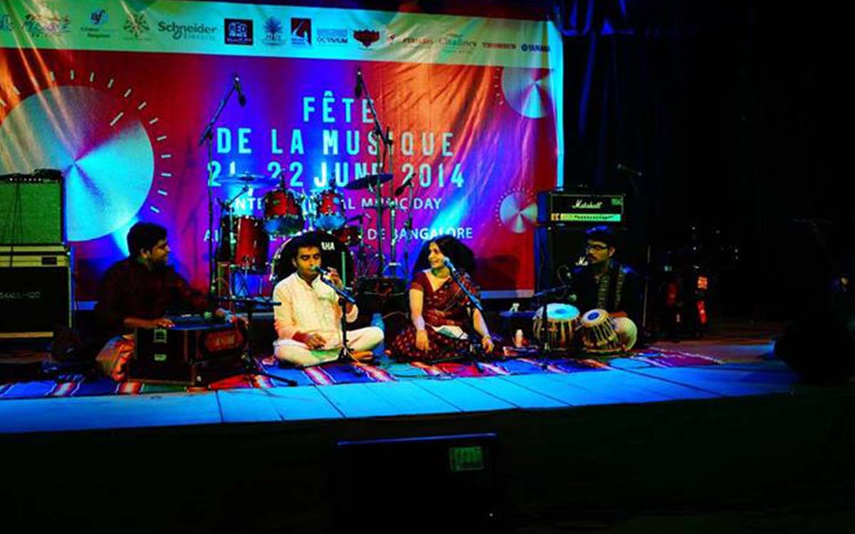 musical event in alliance-francaise
