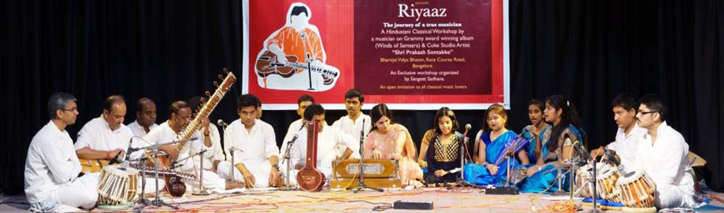 A Hindustani Classical Music – Workshop And Demonstration in Bangalore